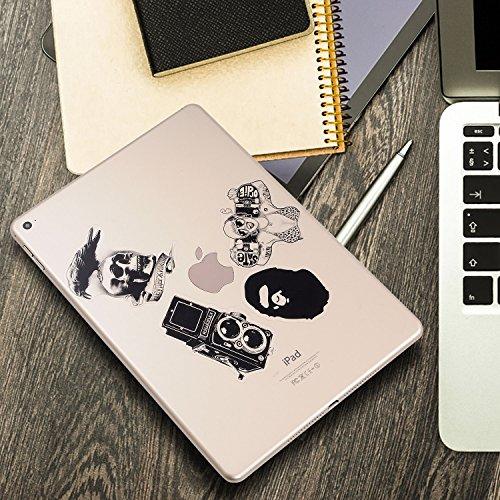 Stickers 100 Pcs Breezypals Clear Vinyl Laptop Stickers