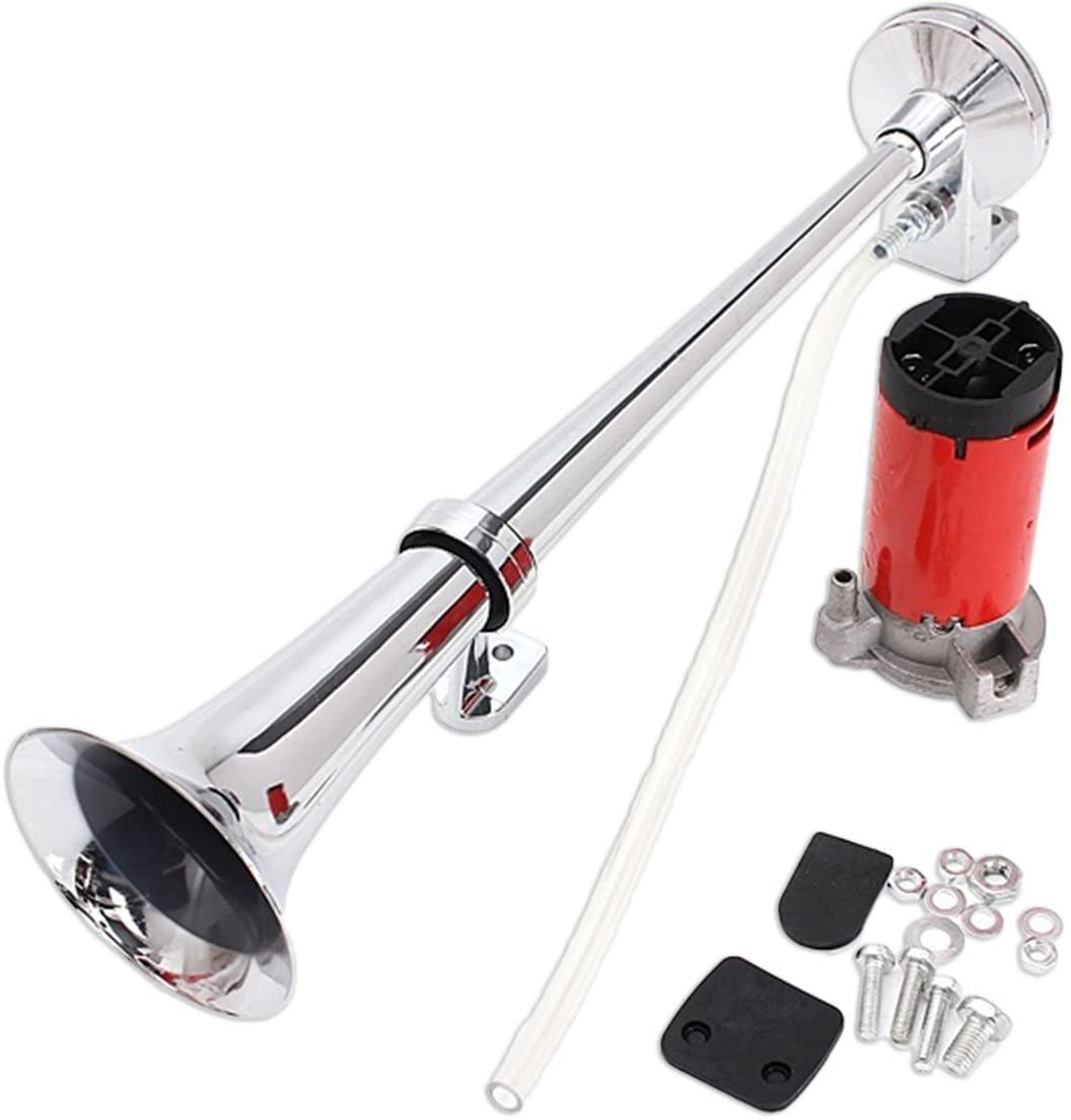Zento Deals 12V Single Trumpet Air Horn
