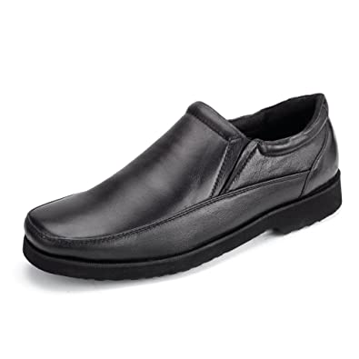 Clifford James Men's Soft Leather Winchester Slip-On Shoes.