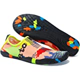 YILISER Water Sports Shoes Barefoot Quick-Dry Aqua Yoga Socks Slip-on for Men Women Kids
