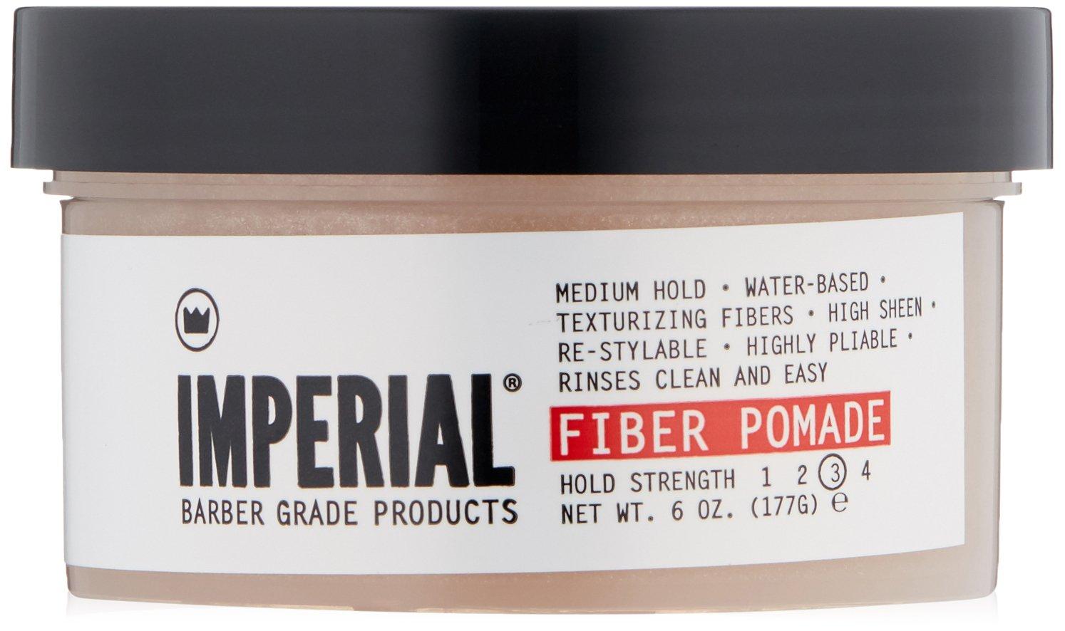Imperial Barber Grade Products Fiber Pomade 6 0z.