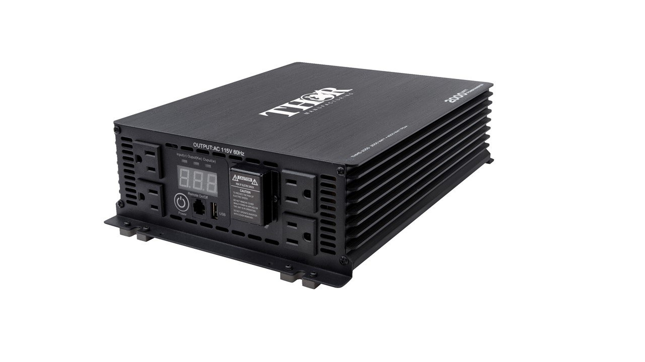 THOR Manufacturing THMS2000 2000W Power Inverter