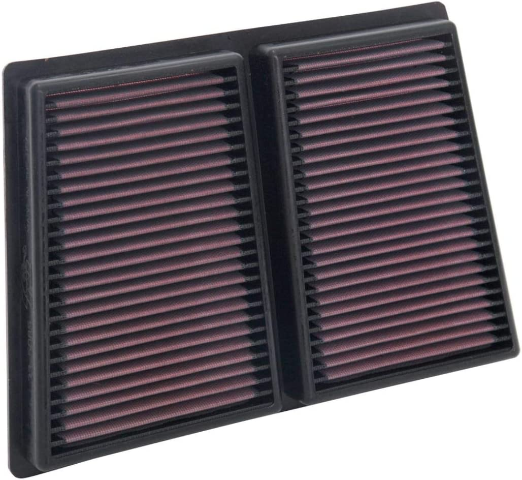 K&N Engine Air Filter: High Performance, Premium, Washable, Replacement Filter: 2017-2019 ALFA ROMEO (Giulia, Stelvio), 33-5085