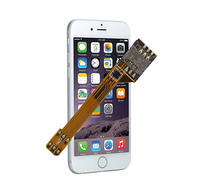 GVKVGIH Dual SIM Adapter Set For IPhone 6 Switch 2 Cards In 1 Phone