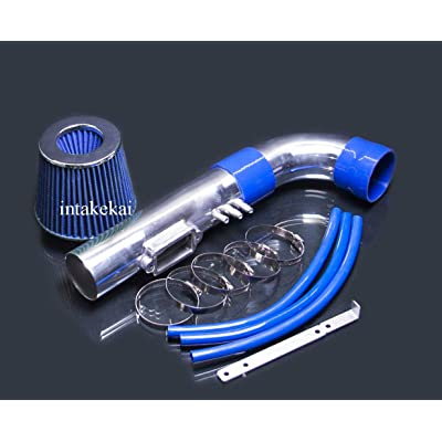 PERFORMANCE AIR INTAKE KIT + FILTER FOR 1998-2000 LEXUS GS400 4.0 4.0L V8 ENGINE (BLUE): Automotive