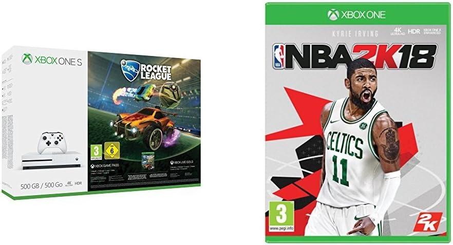 Xbox One S - Consola 500 GB + Rocket League + NBA 2k18: Amazon.es: Videojuegos