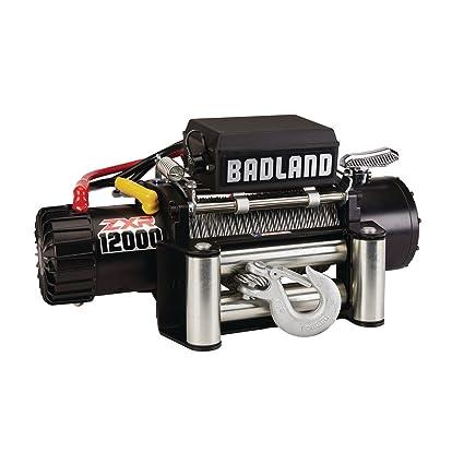 Amazon com: Badland ZXR 12000 lb  IP 66 Weather Resistant