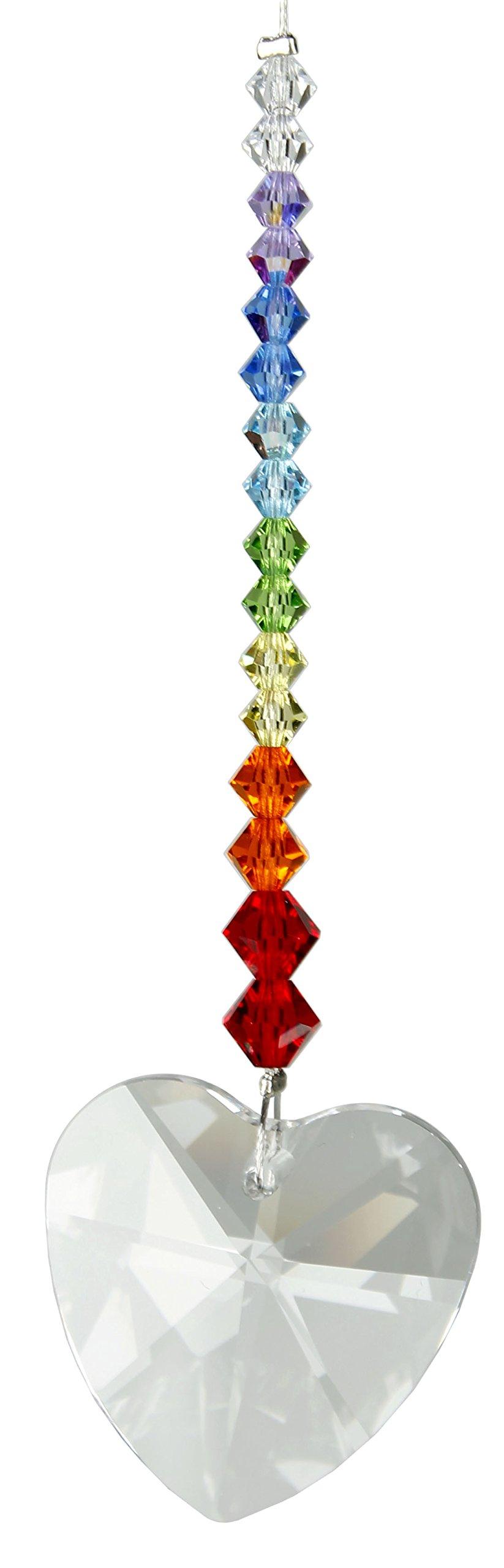 Woodstock Rainbow Heart Crystal Daydreams- Rainbow Maker Collection