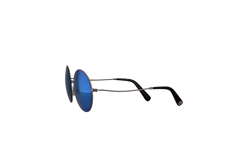 dcac900675f36 Amazon.com  Michael Kors MK5017 Kendall II Sunglasses Silver w Teal Mirror  Lens 100125 MK 5017  Clothing