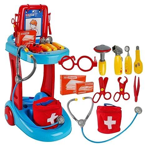 Homeng - Kit de Medicina Infantil para niños, Kit médico de Accesorios de médicos,
