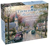 Book cover from Thomas Kinkade Painter of Light with Scripture 2019 Day-to-Day Calendar by Thomas Kinkade