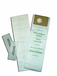 Green Klean GK-CMastr Replacement Vacuum Bags (Pack of 100)