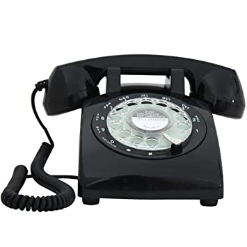 Clásico Antiguo Tocadiscos Teléfono Rotary Dial Retro ...