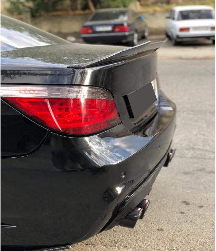 pour BMW s/érie 5 E60 M5 2004-2009 aileron arri/ère Aileron arri/ère de Spoiler becquet arri/ère /à l/èvre de Coffre /à Coffre AniFM Ailerons arri/ère de Voiture en Fibre de Carbone