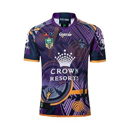 CRBsports Melbourne Storm, Edición Conmemorativa, Camiseta De Rugby, Nueva Tela Bordada, Ropa