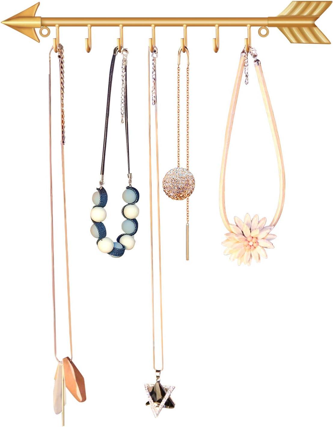 Modern Decor Wall Key Holders Rack Jewellery Organizer