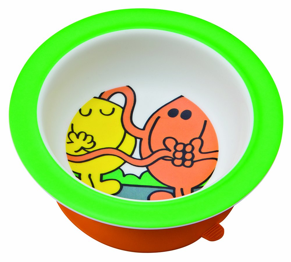 Mr. Men Melamine Bowl with Suction Pad