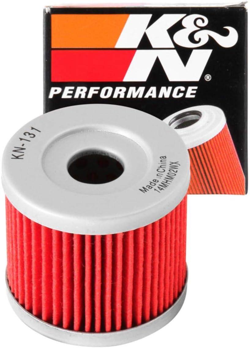 K/&N KN-131 Motorrad Hochleistungsluftfiltersystem
