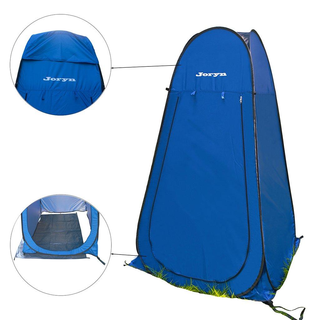 JorynキャンプシャワーテントPop Up Changing Dressing部屋トイレプライバシーテントポータブル   B06XPD3J51
