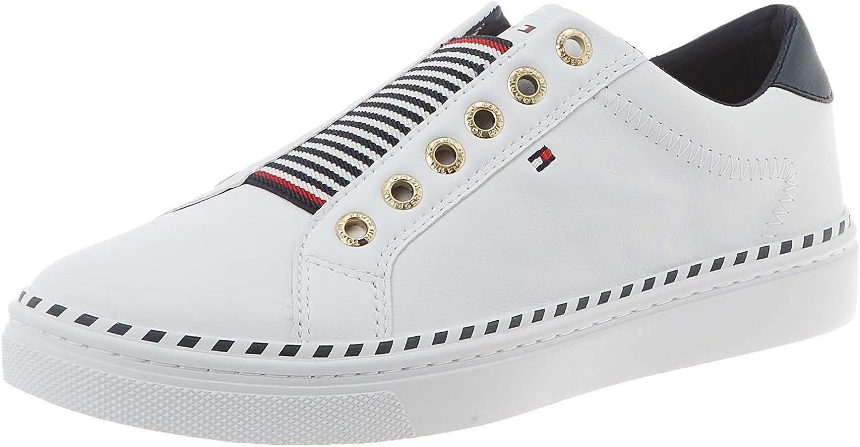 Tommy Hilfiger Tommy Elastic City Sneaker, Zapatillas para Mujer