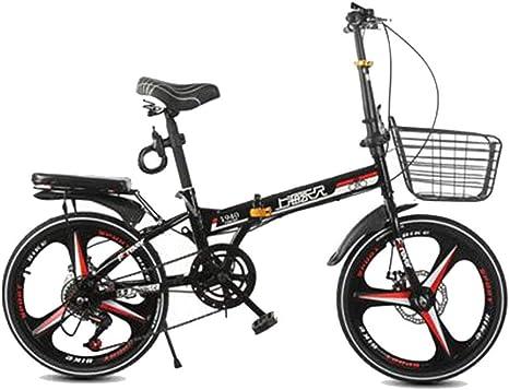 Bicicleta plegable Bicicleta Hombres adultos y mujeres de 20 ...
