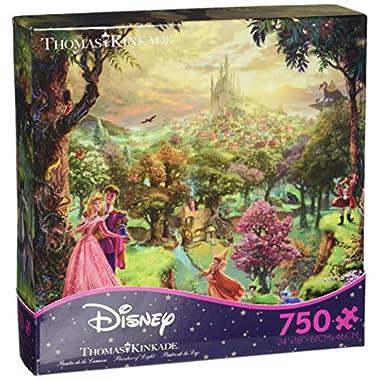 Sleeping Beauty Thomas Kinkade Disney Dreams Collection Jigsaw Puzzle (750pc)