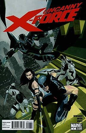 2010 UNCANNY X-FORCE #1 VF//NM MARVEL