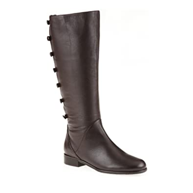 bc9f26a22f7d Ros Hommerson Trendy Women s Extra-Wide Shaft Tall Boot Brown 7 B(M)
