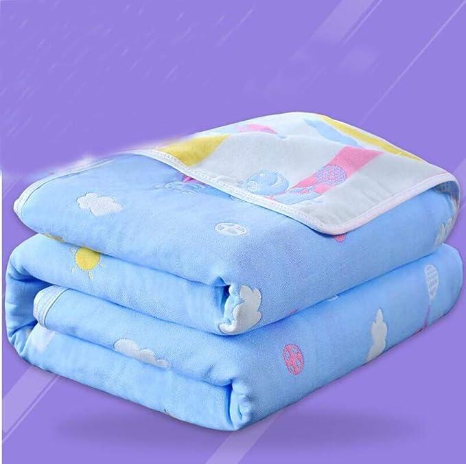 Amazon.com: ATR Baby Bath Towel Cotton Gauze Bath Newborn Towel ...