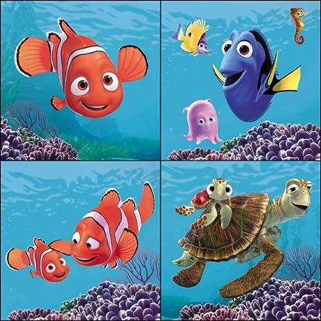 Amazon.com: Blue Mountain Wallcoverings 31720450 Finding Nemo 4 ...