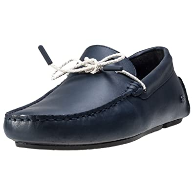 55e7ad33aa8 Lacoste Piloter Corde 117 1 Mens Boat Shoes Navy - 10 UK  Amazon.co ...
