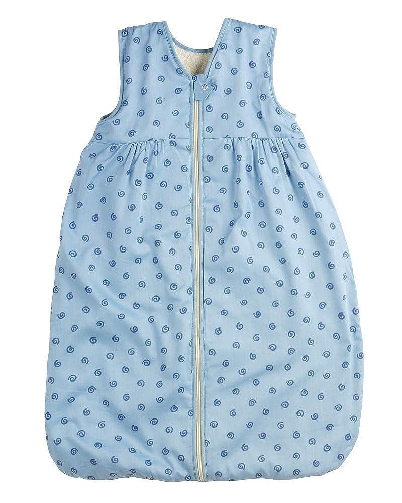 LANA Baby Unisex Sommer Schlafsack Geo mit Molton-Futter aus 100% Bio-Baumwolle GOTS
