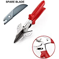 Multi Angle Miter Shear Cutter Hand Tools 45 Degree To 120 Degree (Handle Color - Vary), Including Spare Blade