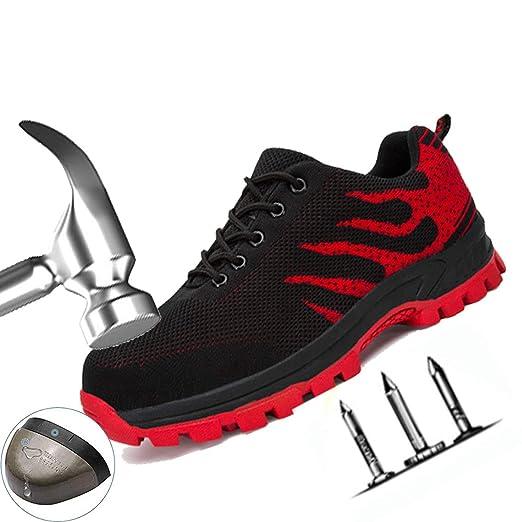 Zapatos De Seguridad Transpirables Con Puntera De Acero Para ...