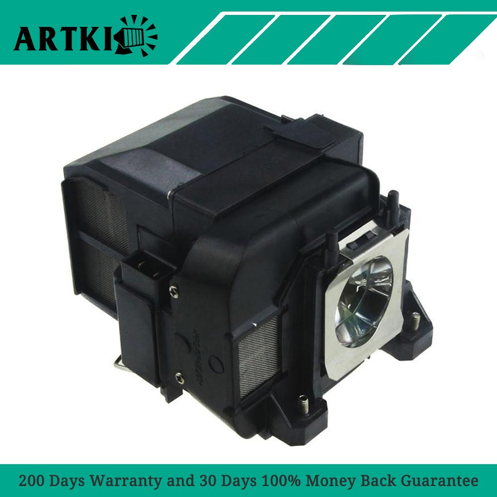 ELPLP77/V13H010L77 Replacement Lamp ELPLP77 for EPSON PowerLite 1975W 1980WU 1985WU 4650 4750W 4855WU G5910/HC 1440/PC 1985 …
