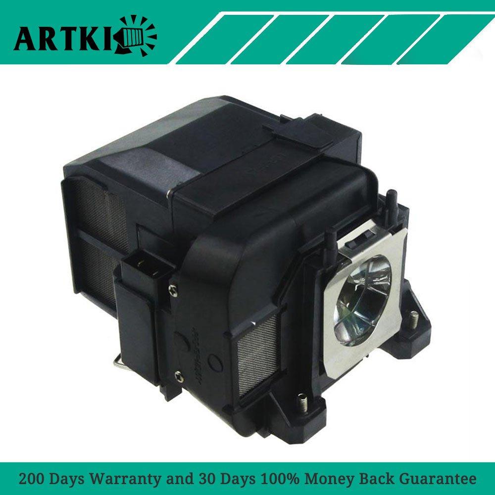 ELPLP77/V13H010L77 Replacement Lamp ELPLP77 for EPSON PowerLite 1975W 1980WU 1985WU 4650 4750W 4855WU G5910/HC 1440 by Artki