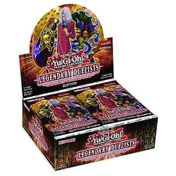Yu Gi Oh. 15423 Legendario duelists Antigua del Milenio Booster Paquetes de Cartas coleccionables: Amazon.es: Juguetes y juegos
