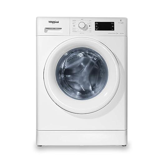 Whirlpool 8 kg Inverter Fully Automatic Front Load Washing Machine  Fresh Care 8212, White, Inbuilt Heater  Washing Machines   Dryers