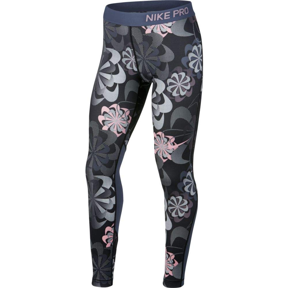 Nike Girl's Pro Printed Training Tights (X-Small)