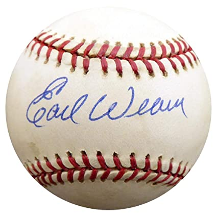 0cb47dac93a Image Unavailable. Image not available for. Color  Autographed Earl Weaver  Ball - Official ...