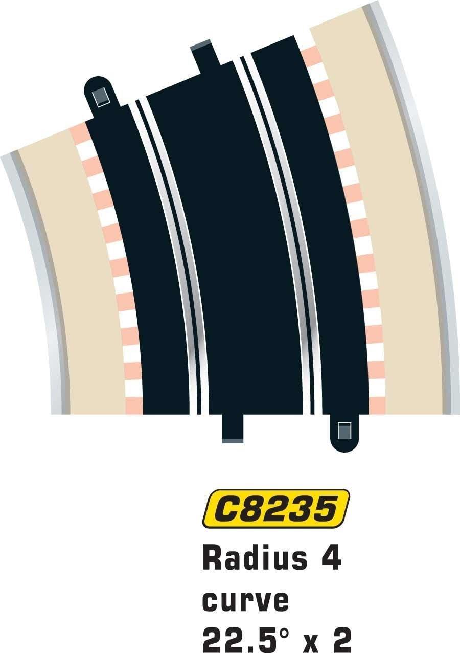 Scalextric C8235 Track Radius - 22.5 Degrees Curve
