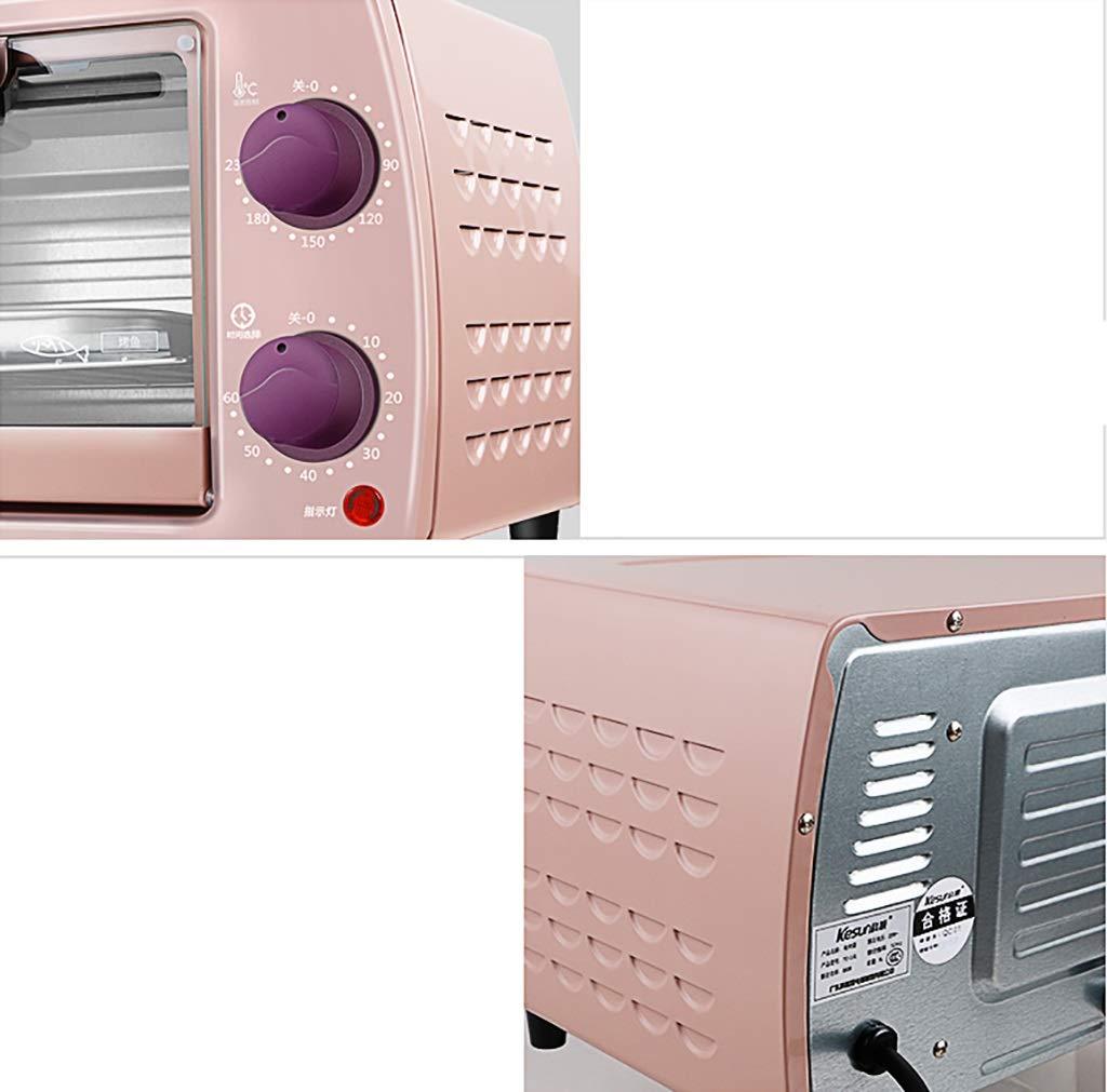 34 21cm mini fours Four multifonction rose 9L de four du four TO-101 rose faisant cuire la petite taille de bo/îte de cuisson 22