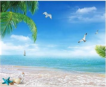 Amazon Co Jp Weaeo カスタム写真の3d壁紙夏の美しいモルディブビーチ