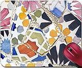 Liili Mousepad Detail of Famous Gaudi The Longest Bench Photo 23045757