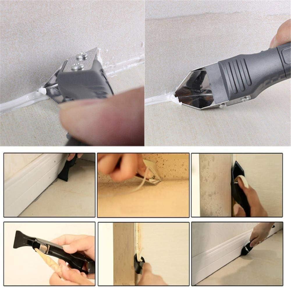 WYZTLNMA multifunktionaler Glaskleber-Schaber Dichtd/üse /& Schaber-Set Silicon Sealant Nozzle Plus Schaber-Set B