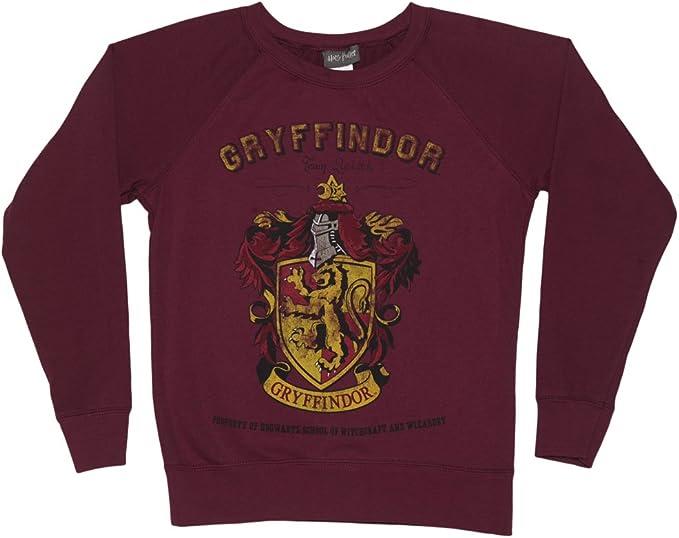 Harry Potter Gryffindor Equipo Quidditch Suter de Las seoras