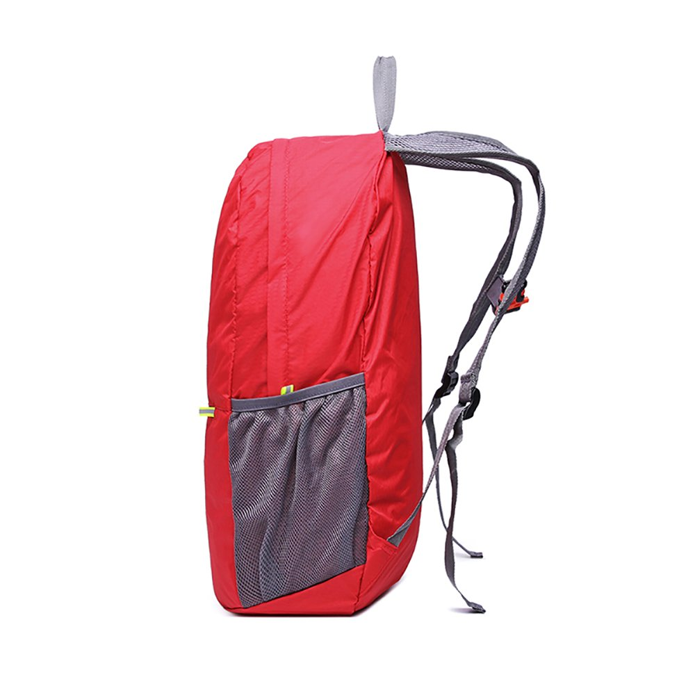 MOACC Packable Backpack, Foldable Lightweight Water Resistant Camping Outdoor Hiking Daypack(Red)