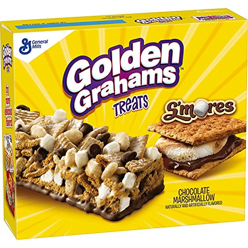 Treats Bar Golden Grahams Treats, Chocolate Marshmallow, 8 ()