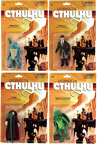 Legends of Cthulhu Retro Action Figures Set of 4