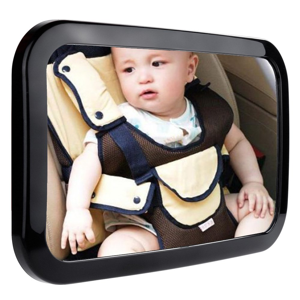 Zacro BM325 Baby Car Mirror, Rearview Baby Mirror, Secure and Shatterproof Mirror for Car